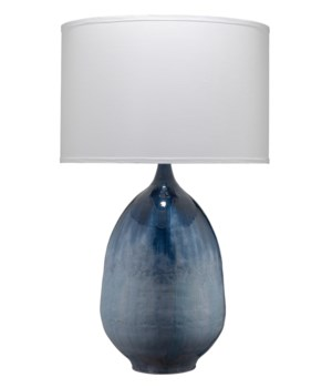 Twilight Blue Ombre Table Lamp
