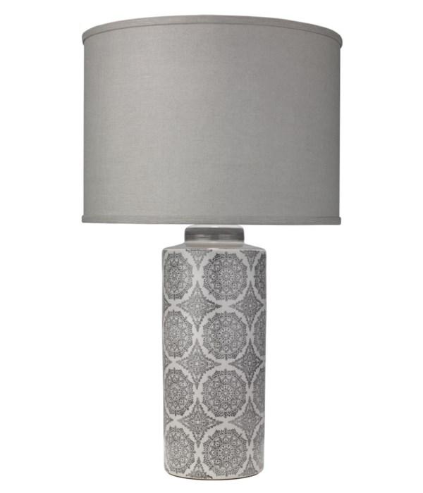 Calliope Grey Table Lamp
