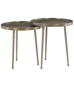 Leavitt Bunching End Tables, Set of 2