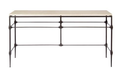 Ellsworth Metal Console Table Base with Stone Top