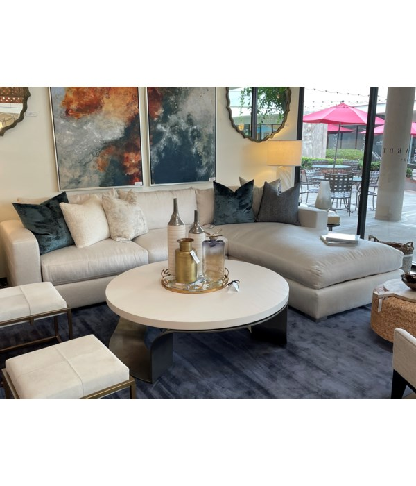 Helena 2 Pc Sectional, 2153-002, GR D