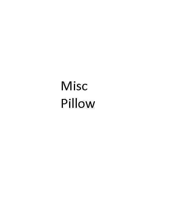Misc Pillow