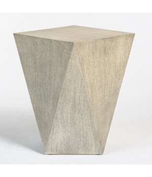 Gavin Accent Table, Brushed Smoke
