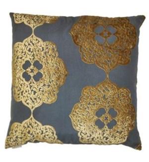 Maison Square Gold Pillow