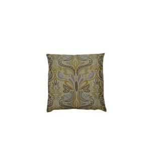 Two In A Bush Square Pillow