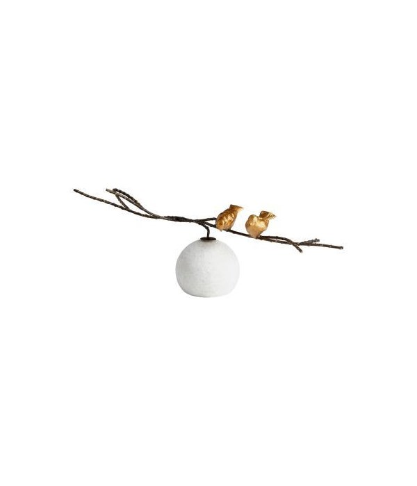 Gold Finches Sculpture