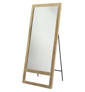 Austere Leaning Floor Mirror