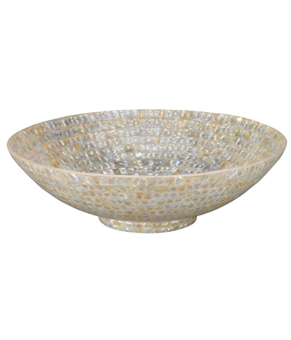 Supra Bowl in Mother of Pearl