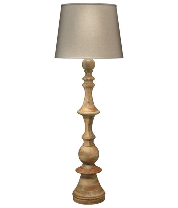 Budapest Wood Floor Lamp , XL Cone