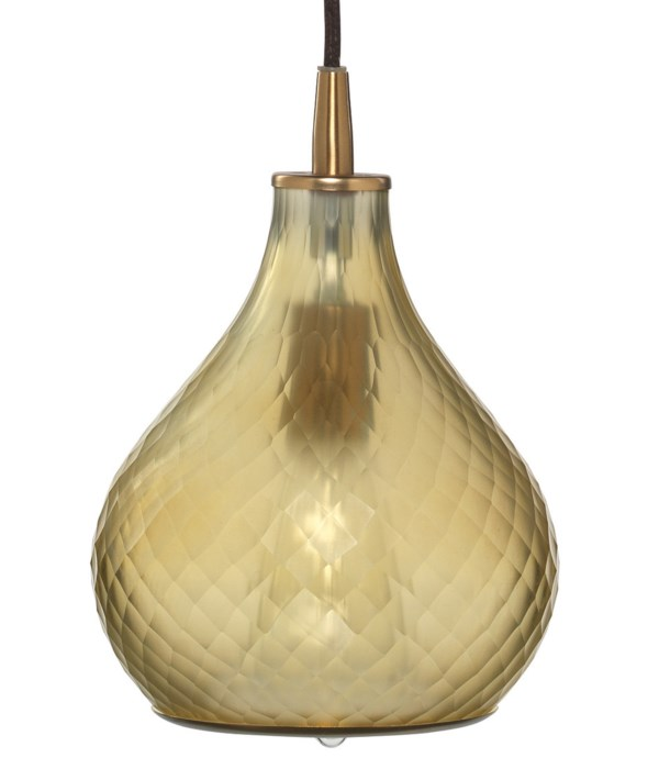 Sm Cloud Frosted Taupe Pendant