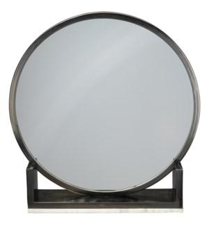 Odyssey Standing Antique Iron Mirror