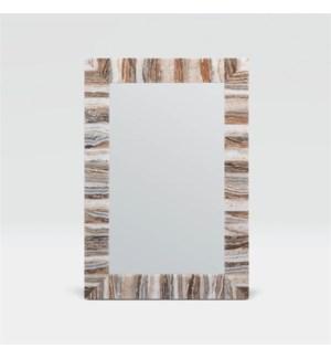 Harrison Light Mix Onyx Mirror