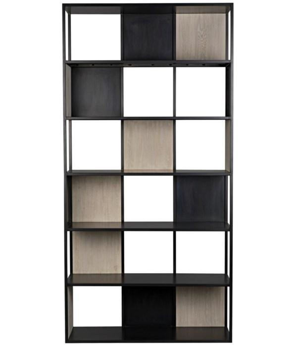 Diana Bookcase, Grey Wash