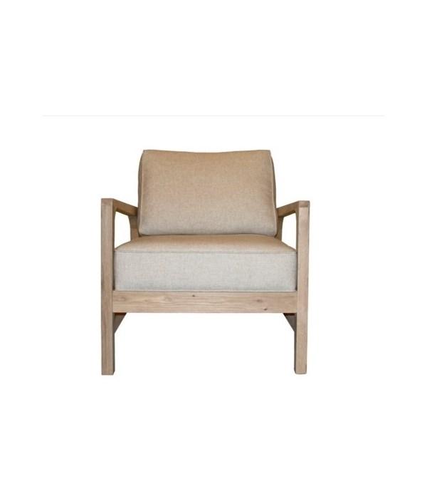 Alexandra Chair, Oak Frame, Cruise Onyx, Gr B