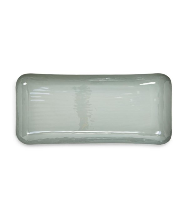 Rect Earth Tones Tray, Large