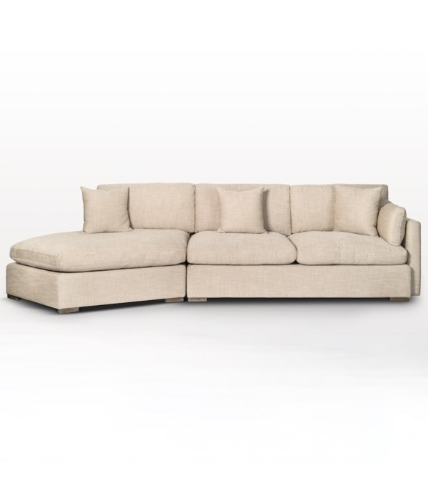 Kayden Sectional, Left Facing Chaise