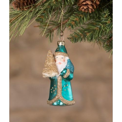 Jewel-Tide Santa Mini Ornament 8A
