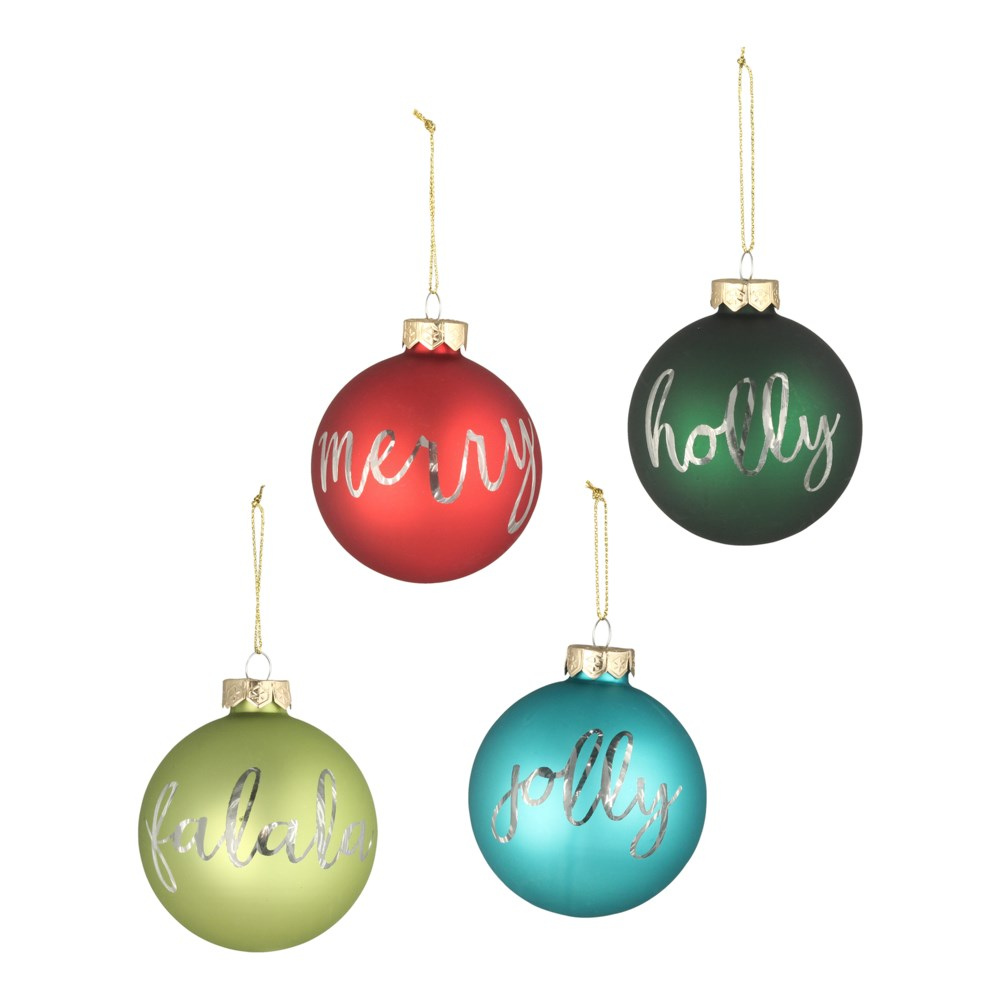 Holiday Greetings Ornament S4