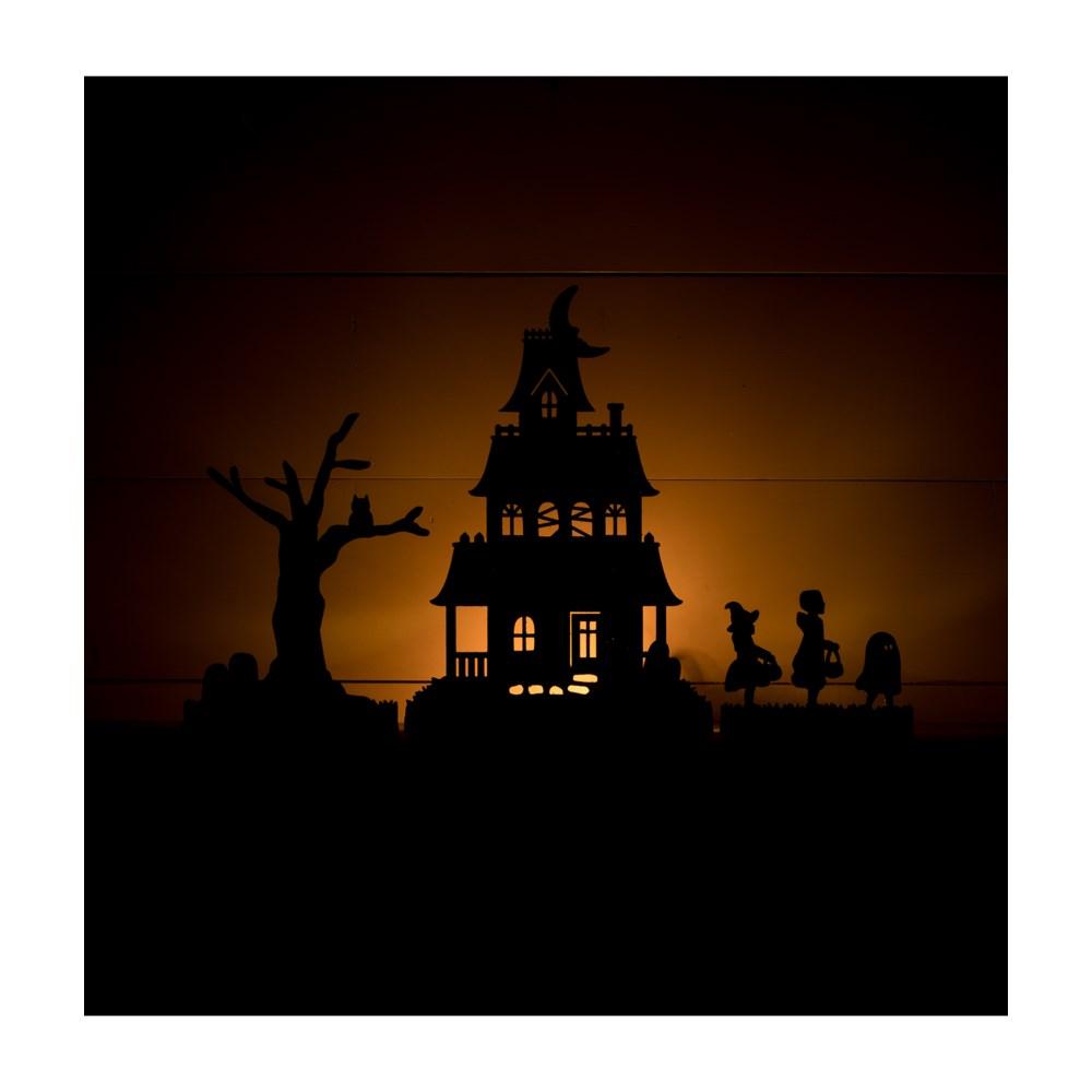 Halloween Village Silhouette Dummy Boards S3