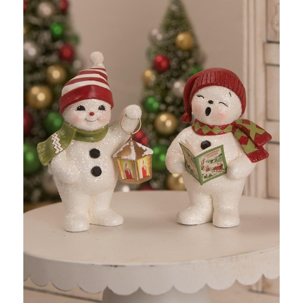 Lighting the Way Snowman