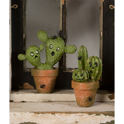 Potted Ghostly Cacti