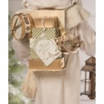 Winter Father Christmas With Lantern