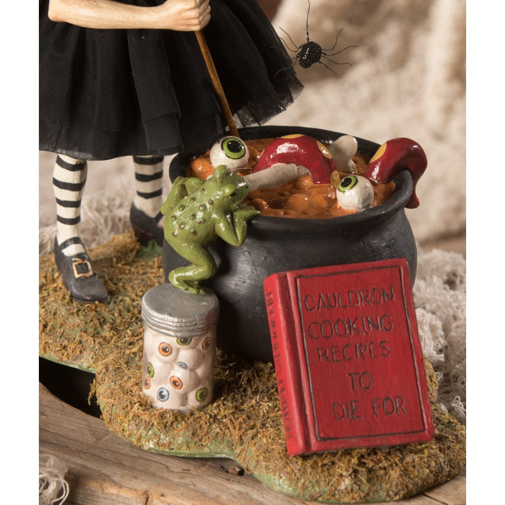 Cauldron Cooking Witch
