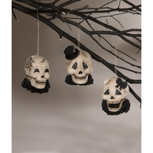 Silly Skelly Ornament 3A