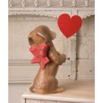 We Be-LONG Together Dog Paper Mache