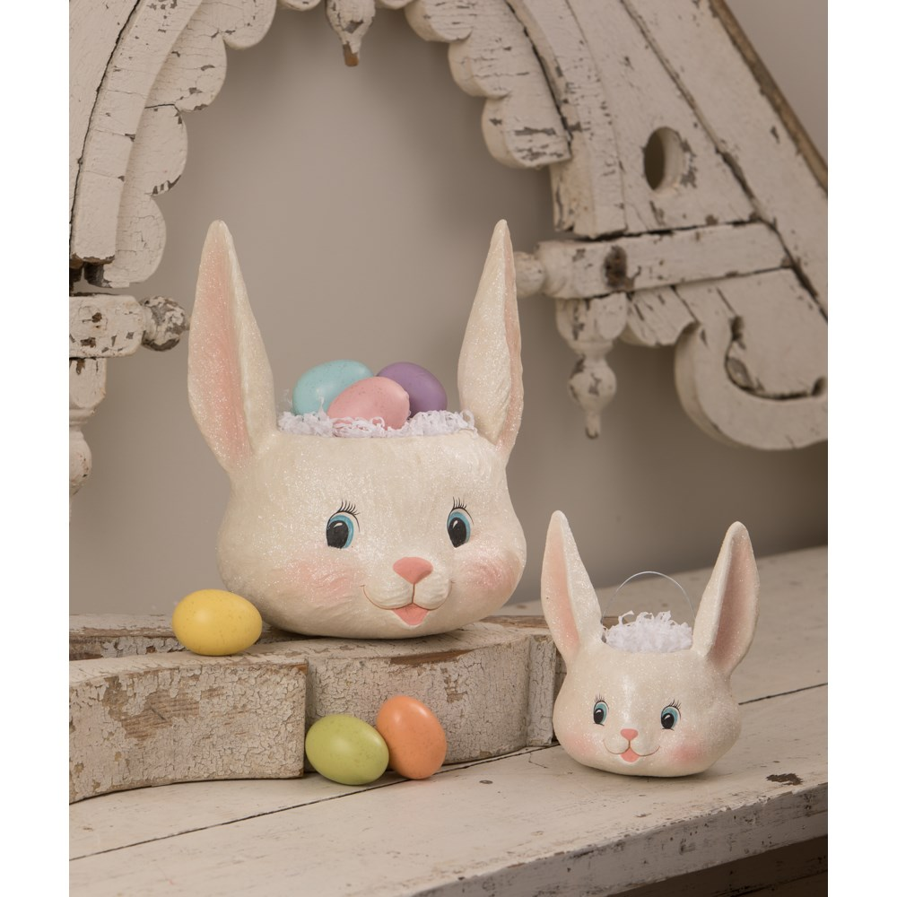 Sweet Bunny Head Bucket Small