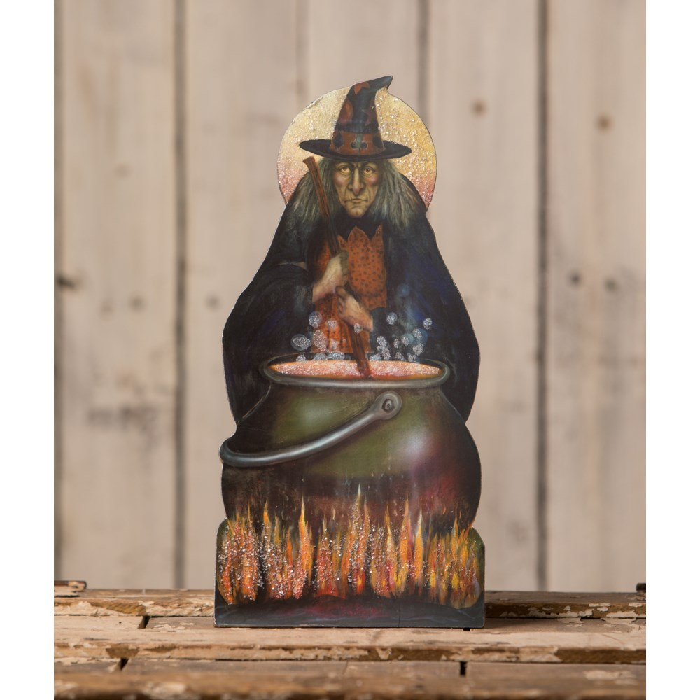 Bubble Bubble Toil and Trouble Witch Dummy Board
