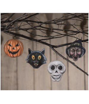 Halloween Haunts Ornament 4A