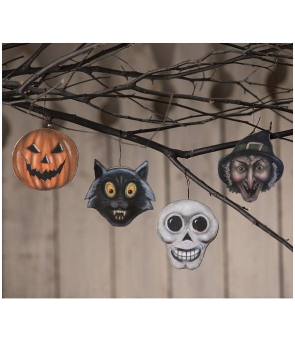 Halloween Haunts Ornament 4A