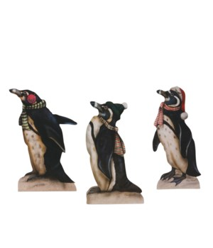 Holiday Penguin Dummy Board 3/A