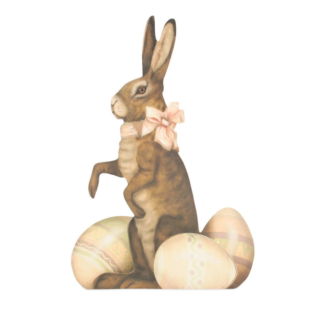Sweet Bunny with Eggs Large Dummy Board