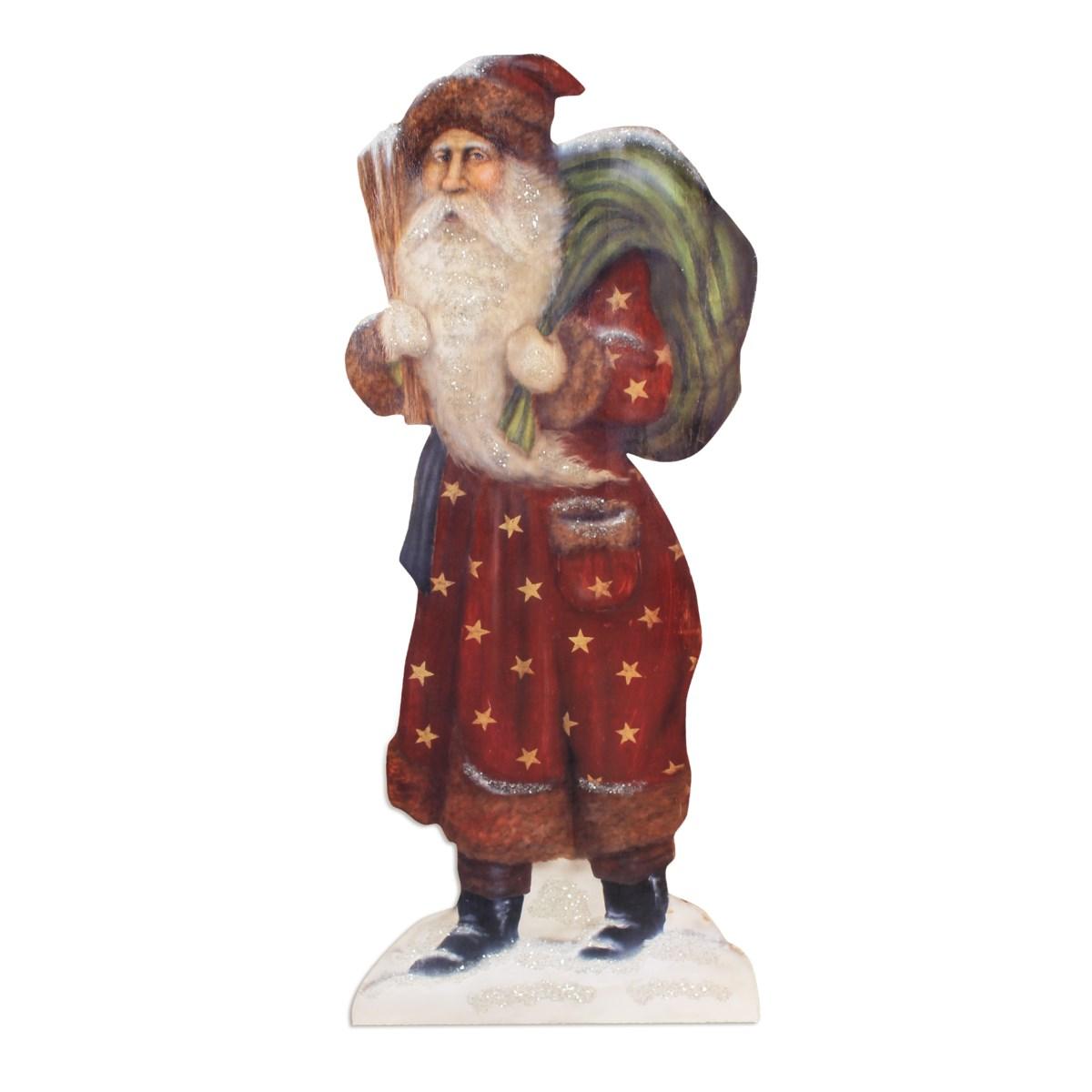 Santa With Star Coat