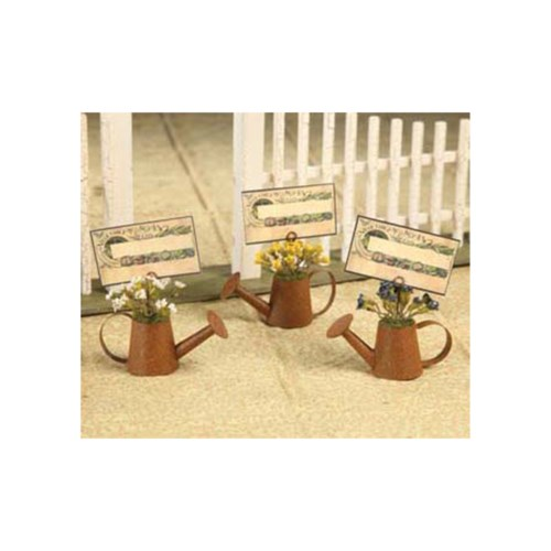 WATERING CAN PLACE CARD HOLDER 3/A