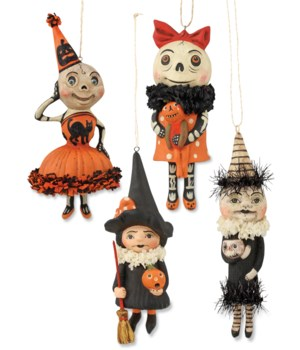Happy Halloween Ornament 4/A