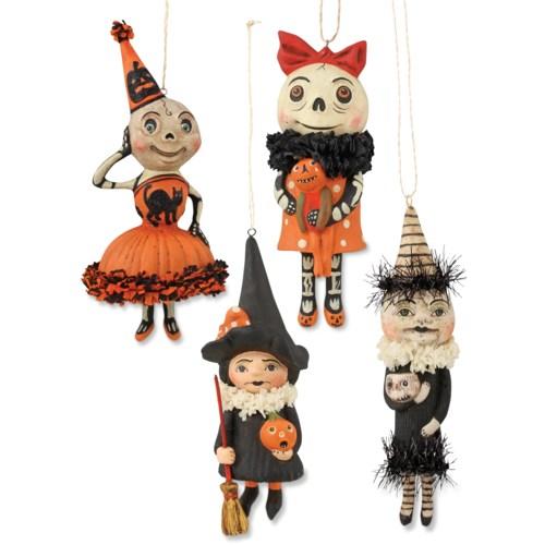 Happy Halloween Ornament 4/A