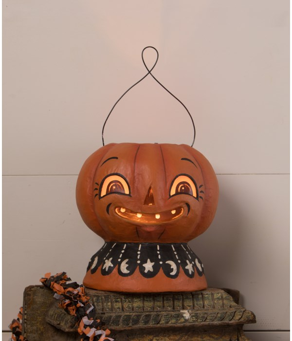 Magic Pumpkinny Lantern Paper Mache