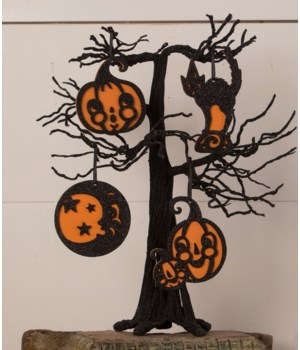 Jolly Halloween Ornament 4A