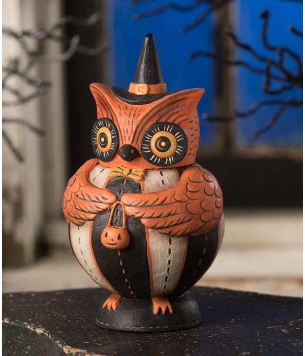 Owlster Hoots Spooks Jar