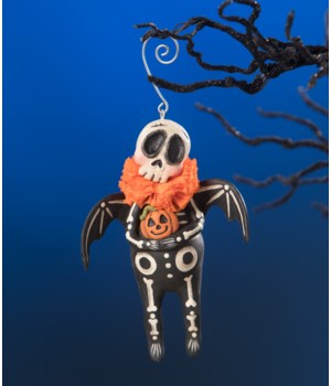 Skeleton Bat Ornament