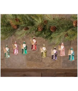 Jewel-Tide Santa Mini Ornament 8/A