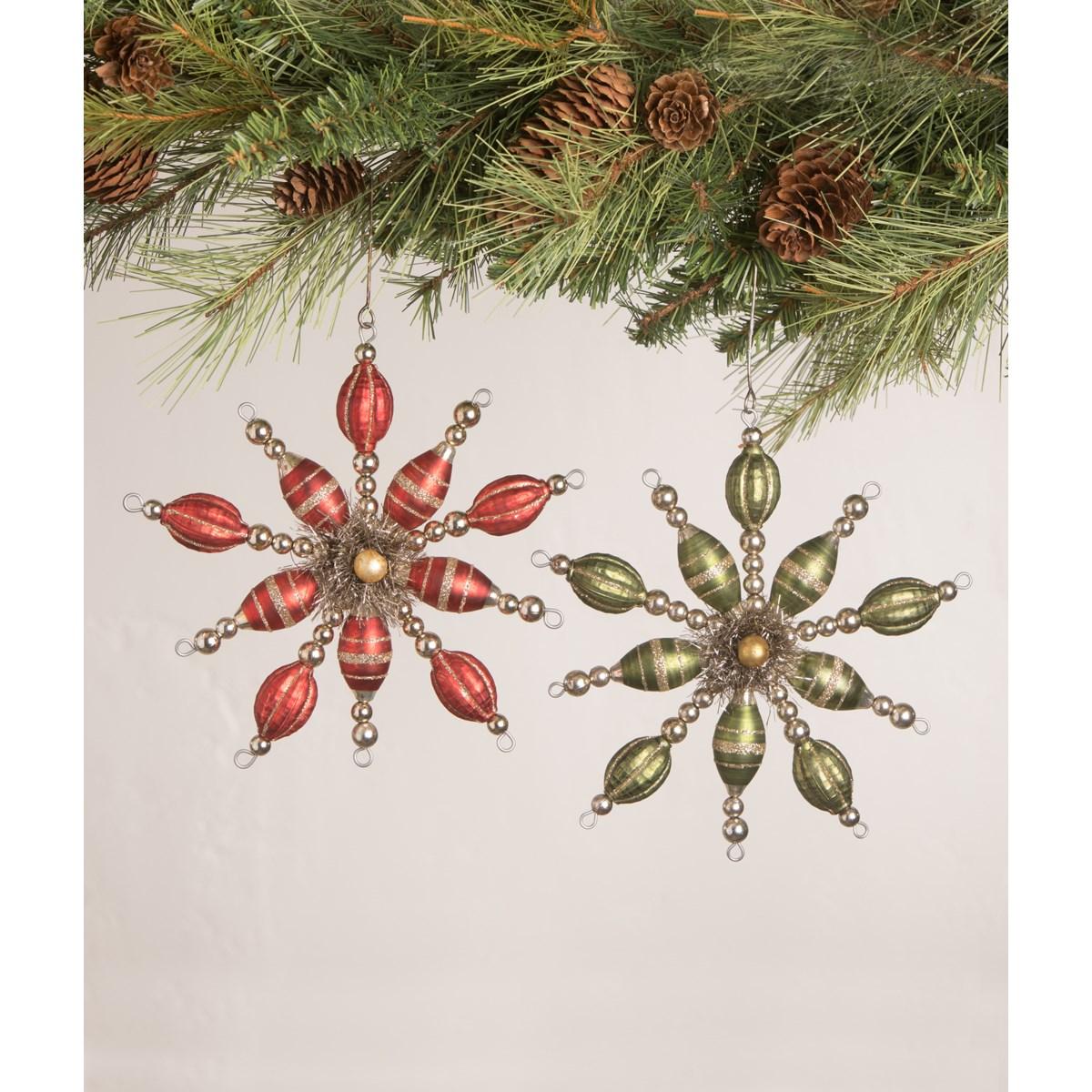 Vintage Starburst Ornament 2A