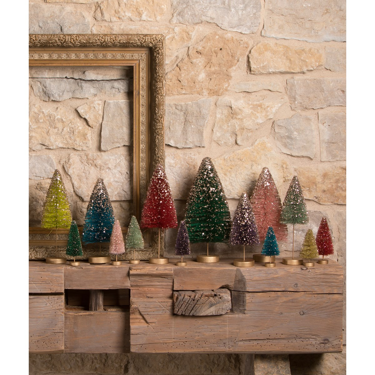 Jewel-Tide long stem Bottle Brush Trees S3