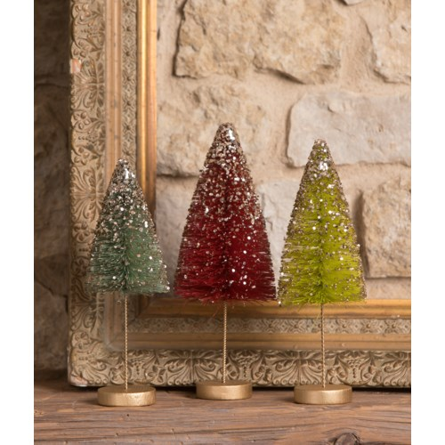 Jewel-Tide long stem Bottle Brush Trees S3