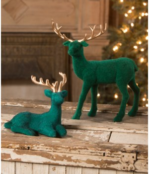 Jewel-Tide Flocked Deer S2