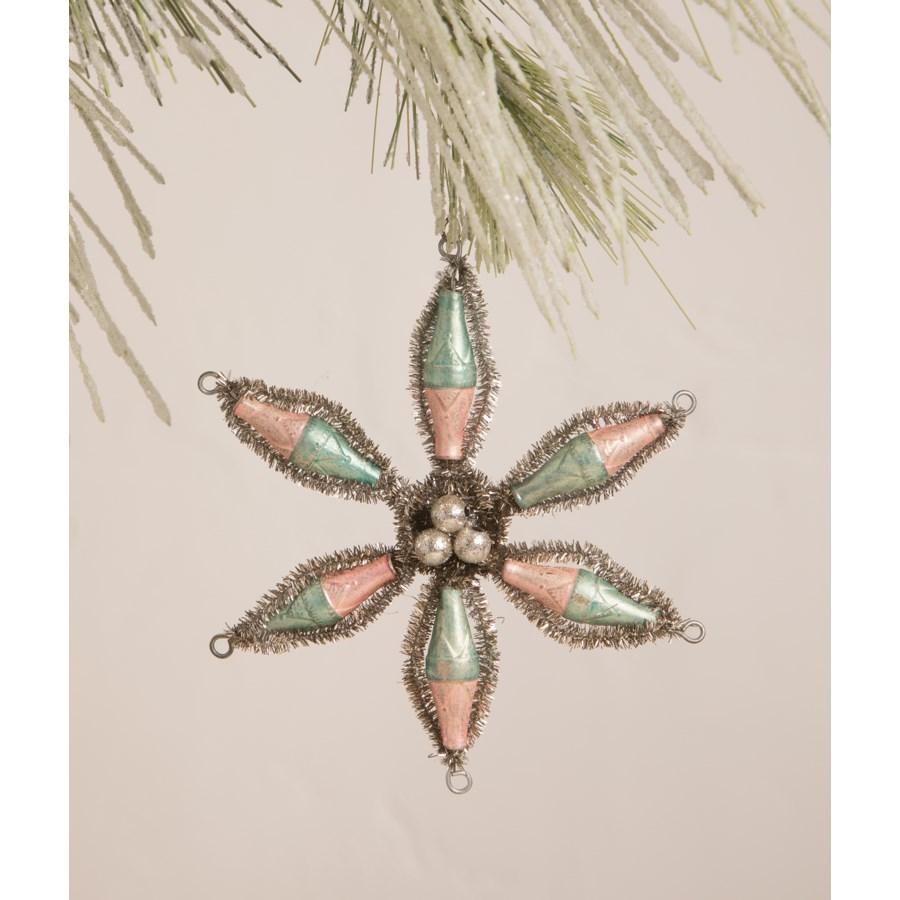 Pastel Starburst Ornament