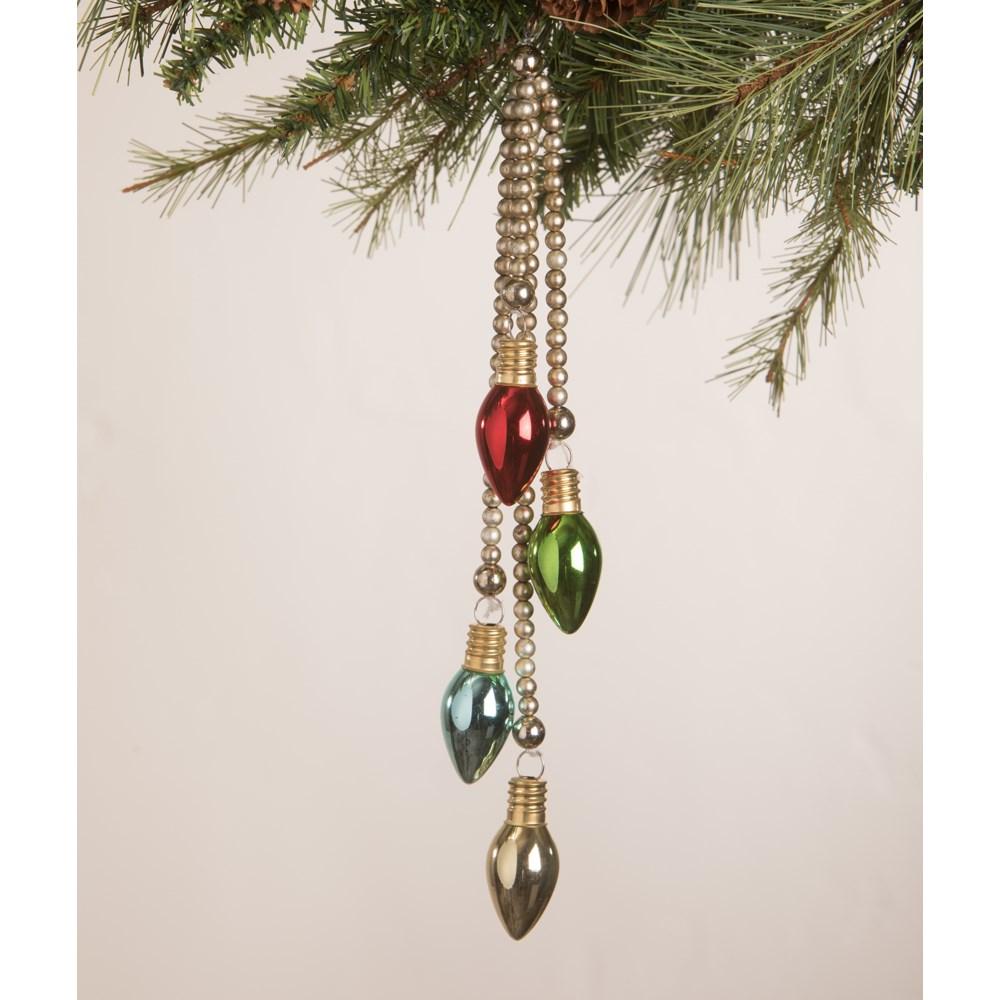 Merry and Bright C7 Dangle Ornament